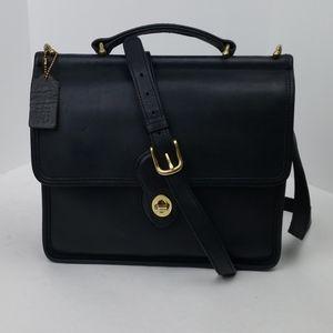 Vintage Coach Black Willis Bag 9927